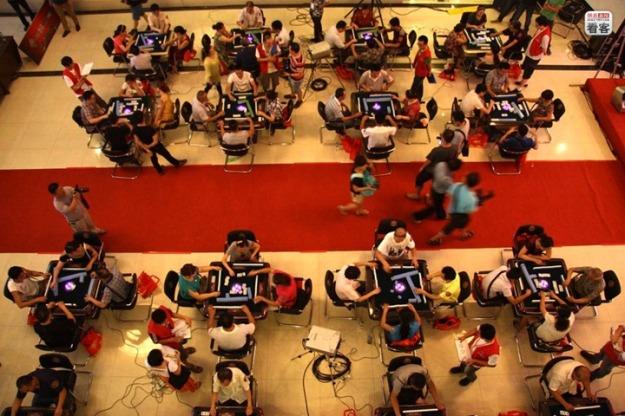 Mahjong-competition