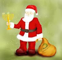 Jewish Santa